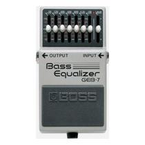 Pedal equalizador roland p/contra baixo geb-7 -