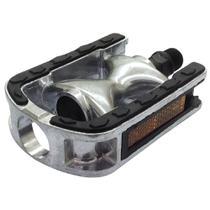 Pedal Feimin Confort FP920B Eixo 1/2 Prata/Preto -