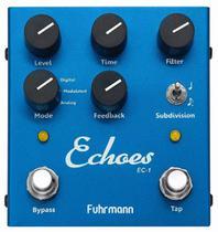 Pedal Fuhrmann Echoes - Tap Delay Ec01 -