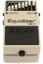 Pedal Guitarra Boss Ge7 Equalizador - Roland