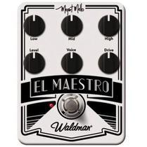 Pedal Guitarra MM 6 FX El Maestro Mozart Mello Waldman -