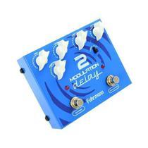Pedal Guitarra Modulation Delay 2 Fuhrmann True Bypass Music -
