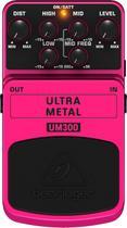 Pedal Guitarra Ultra Metal UM300 Behringer -