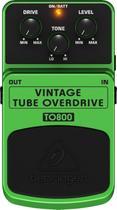 Pedal Guitarra Vintage Tube Overdrive TO800 Behringer -