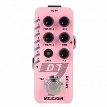 Pedal mooer 6 tipos de delay e looper - d7 -