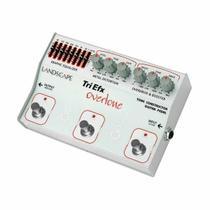 Pedal Overdrive / Boost / Distortion p/ Guitarra - TriOV TriEfx Overtone Landscape -