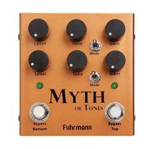Pedal p/ guitarra fuhrmann myth of tones my-01 -