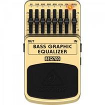 Pedal para Contrabaixo Bass Equalizer BEQ700 BEHRINGER -