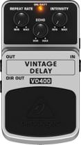Pedal para Guitarra Delay Vintage VD400 Behringer -