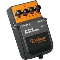 Pedal Para Guitarra Super Distortion 9V Sd-1 Waldman -