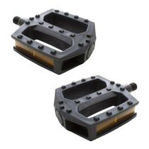 Pedal Plataforma Nylon Preto Rosca Fina 1/2 Sueco METALCICLO - Onlinemotoparts