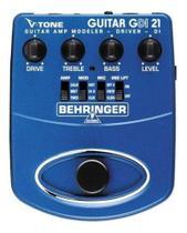 Pedal Simulador Amplificador Behringer Gdi21 -