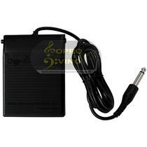 Pedal Sustain Teclado Eletrônico Piano Digital Cherub WTB004 -