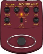 Pedal Violão Multi Efeitos ADI21 Behringer -