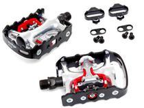Pedal Wellgo Dupla Face Wpd-998 Clip Eixo Cromoly C/tacos -