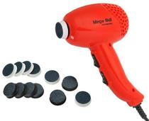 Pedicuro Elétrico Esfoliador Lixa Elétrica para os Pés Laranja + 12 Lixas Descartáveis (Escolha a Voltagem) - Mega Bell