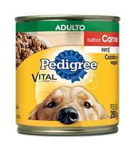 Pedigree Lata Patê de Carne para Cães Adultos- 280g -