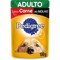 Pedigree Sache Adulto Carne Ao Molho - 100 Gr -