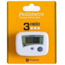 Pedômetro Digital AX Esportes com 3 Funções - FA507 -