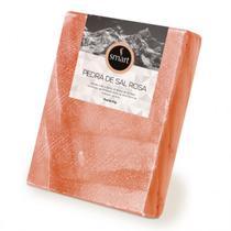 Pedra de sal rosa do himalaia smart 5kg  30 x 20 x 4 cm -