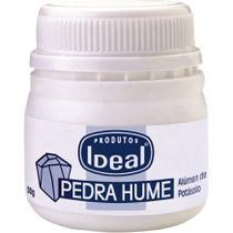 Pedra Hume Sólida Pote 50g - Ideal -