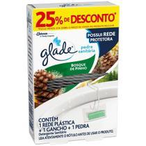 Pedra Sanitaria Glade Bosque de Pinho Grátis 25% de Desconto -