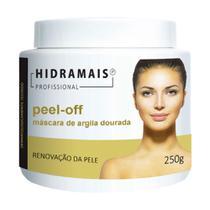 Peel-off Máscara De Argila Dourada 250g Hidramais -