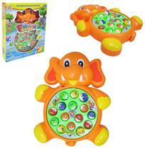 Pega Peixe a Pilha Elefante Fishing Game com Som e Luz a Pilha na Caixa - 20 Comercial