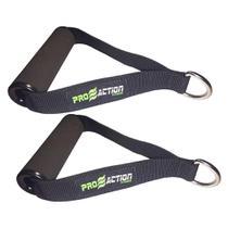 Pegador para Látex Band - Preto (Par - 13cm X 21cm X 3,5cm) - Proaction Sports