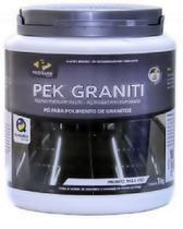 PEK GRANITI Pó para lustre de granitos CLAROS 1KG -PISOCLEAN -
