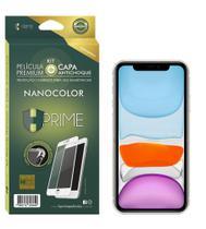 Pel. HPrime Kit com Capa Apple iPhone 11 - Preto c/ acessorios - NanoColor - Hprime Películas