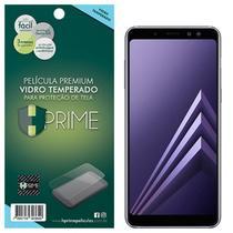 Pel. HPrime Samsung Galaxy A8 Plus 2018 - Vidro Temperado -