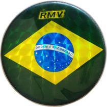 "Pele RMV Leitosa 13"" Bandeira Brasil -"