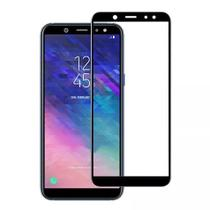 Película 3D de Vidro Samsung Galaxy A6 Plus + Capa Anti Shock Cristal -
