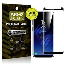 Película 3D Fácil Aplicação Samsung Galaxy S8 Película 3D - Armyshield -