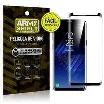 Película 3D Fácil Aplicação Samsung Galaxy S8 Plus Película 3D - Armyshield -