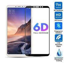 Pelicula 6D de Vidro Preta Samsung Galaxy J6 Plus J610 + Capa Anti Impacto Transparente -