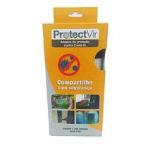 Película adesiva de proteção antiviral 50 micras 10 cm x 5m translúcido - Protectvir