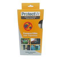 Película adesiva de proteção antiviral 50 micras 10 cm x 5m verde - Protectvir