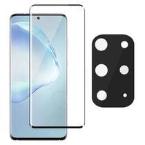 Película Curvada 3D + Protetor Câmera Gel Samsung S20 Plus - Highquality