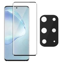 Película Curvada 3D + Protetor Câmera Gel Samsung S20 Ultra - Highquality