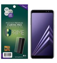 Película Curve Pro Samsung Galaxy A8 Plus 2018 - Adere na parte curva da tela - Hprime