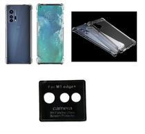 Película Da Lente Motorola Moto Edge+ Plus (108MP) + Capa Reforçada - DV ACESSORIOS