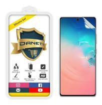 Película De Gel Flexível Galaxy S10 Lite E A71 Full Cover Silicone Transparente - Danet