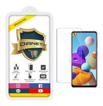 """Película De Gel Full Cover Samsung Galaxy A21s Tela de 6.5"""" - Proteção Que Adere E Cobre Toda A Tela - Danet"""