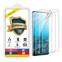 Película De Gel Samsung Galaxy S10 Tela 6.1 Curvada - Proteção Que Adere E Cobre Toda A Tela - Danet