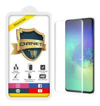 Película De Gel Samsung Galaxy S10e Tela 5.8 Curvada - Proteção Que Adere E Cobre Toda A Tela - Danet