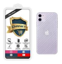 Película De Gel Traseira Fibra Carbono iPhone 11 Proteção Que Adere E Cobre Toda A Parte Traseira do Aparelho - Primeiros Danet