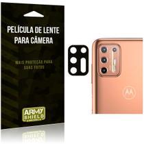 Película de Lente da Câmera Anti Risco Motorola Moto G9 Plus - Armyshield -
