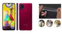 Película De Nano Gel Cobre 100% O Display Samsung Galaxy M31 - Dv Acessorios